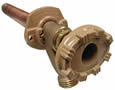 Woodford - 16CP-6-BP - Model 16 Wall Faucet CP Inlet 6 Inch, Bulk Pack
